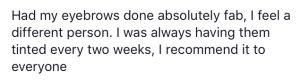 Testimonial for Hayley Ayres 5